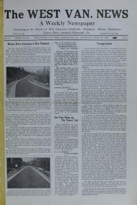 West Van. News (West Vancouver), 5 Apr 1929