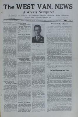 West Van. News (West Vancouver), 14 Jun 1929