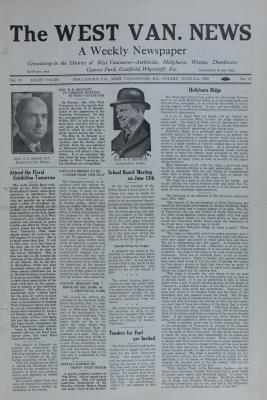 West Van. News (West Vancouver), 21 Jun 1929