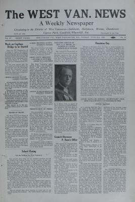 West Van. News (West Vancouver), 28 Jun 1929