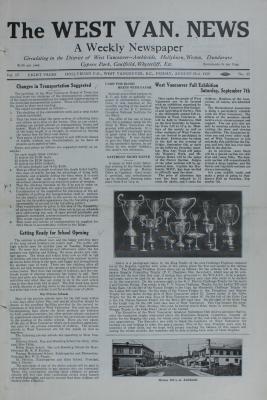 West Van. News (West Vancouver), 23 Aug 1929
