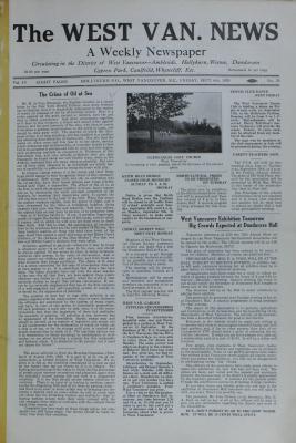 West Van. News (West Vancouver), 6 Sep 1929