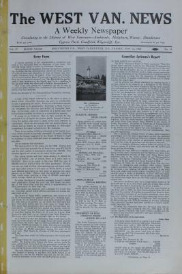 West Van. News (West Vancouver), 1 Nov 1929