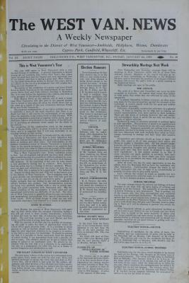 West Van. News (West Vancouver), 4 Jan 1929
