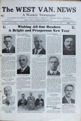 West Van. News (West Vancouver), 27 Dec 1929