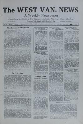 West Van. News (West Vancouver), 22 Feb 1929