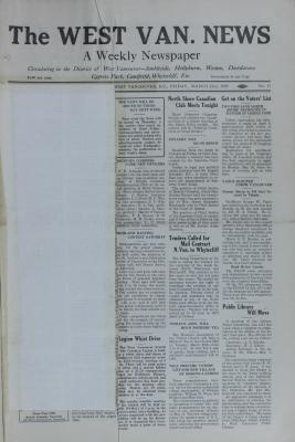 West Van. News (West Vancouver), 22 Mar 1929