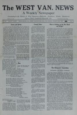 West Van. News (West Vancouver), 28 Mar 1929