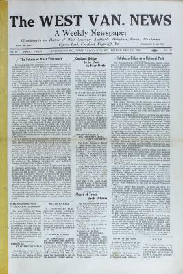 West Van. News (West Vancouver), 17 Apr 1930