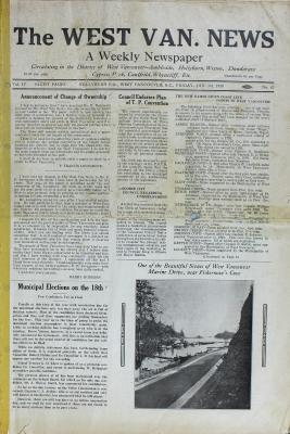 West Van. News (West Vancouver), 3 Jan 1930