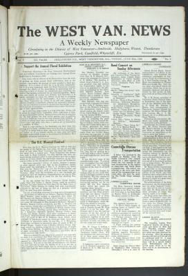 West Van. News (West Vancouver), 20 Jun 1930