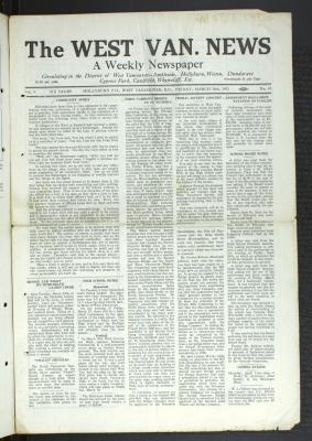 West Van. News (West Vancouver), 20 Mar 1931