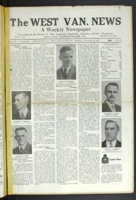 West Van. News (West Vancouver), 22 Jan 1932
