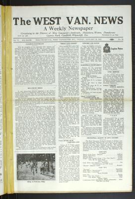 West Van. News (West Vancouver), 29 Jan 1932
