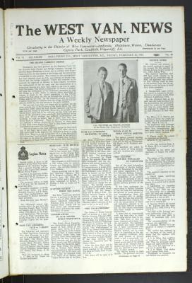 West Van. News (West Vancouver), 26 Feb 1932
