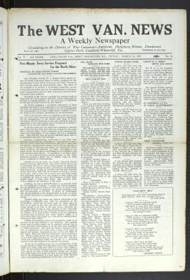 West Van. News (West Vancouver), 24 Mar 1932