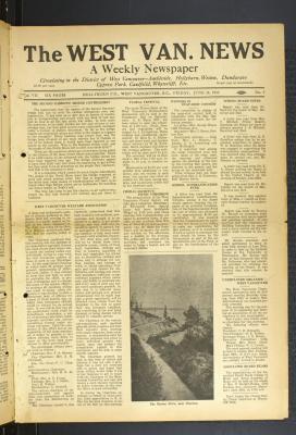 West Van. News (West Vancouver), 24 Jun 1932