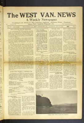 West Van. News (West Vancouver), 21 Jul 1932