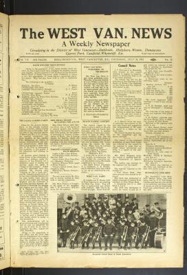 West Van. News (West Vancouver), 28 Jul 1932