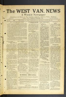 West Van. News (West Vancouver), 24 Aug 1933