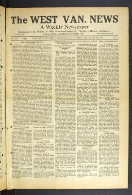 West Van. News (West Vancouver), 28 Sep 1933
