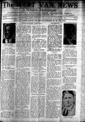 West Van. News (West Vancouver), 11 Jan 1934