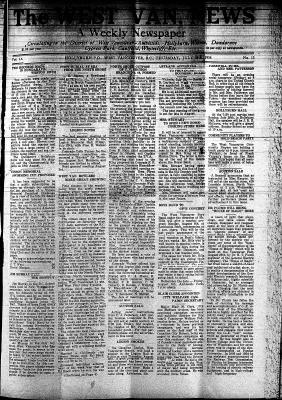 West Van. News (West Vancouver), 26 Jul 1934