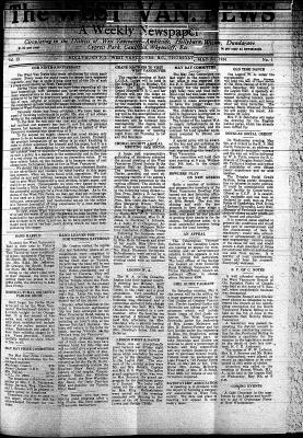 West Van. News (West Vancouver), 3 May 1934