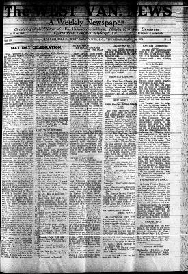 West Van. News (West Vancouver), 31 May 1934
