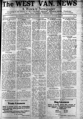West Van. News (West Vancouver), 29 Aug 1935