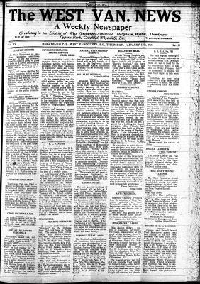 West Van. News (West Vancouver), 17 Jan 1935