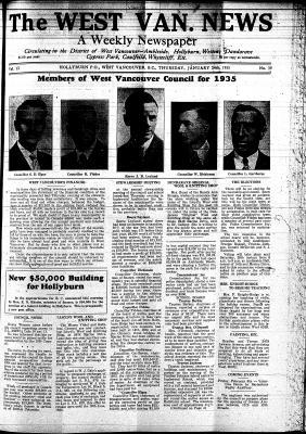 West Van. News (West Vancouver), 24 Jan 1935