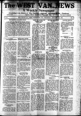 West Van. News (West Vancouver), 31 Jan 1935