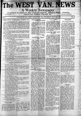 West Van. News (West Vancouver), 25 Jul 1935
