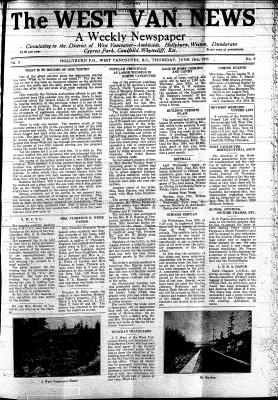 West Van. News (West Vancouver), 13 Jun 1935