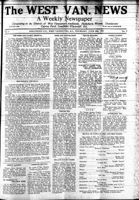 West Van. News (West Vancouver), 20 Jun 1935