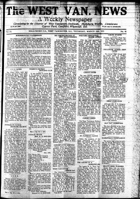West Van. News (West Vancouver), 14 Mar 1935