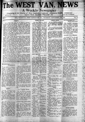 West Van. News (West Vancouver), 12 Sep 1935