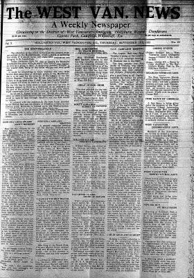West Van. News (West Vancouver), 19 Sep 1935