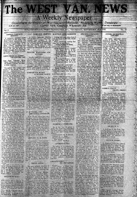 West Van. News (West Vancouver), 26 Sep 1935