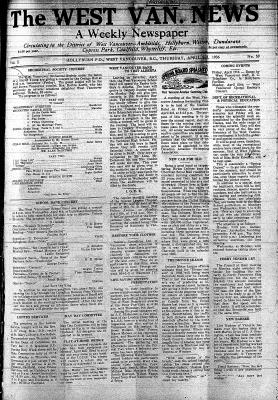 West Van. News (West Vancouver), 2 Apr 1936