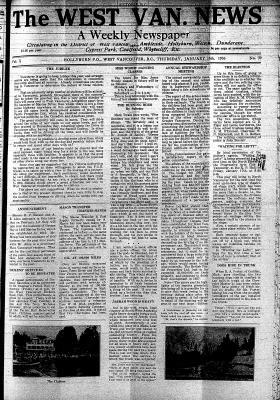 West Van. News (West Vancouver), 16 Jan 1936