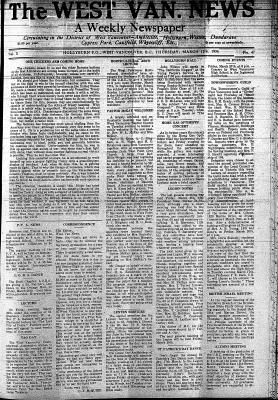 West Van. News (West Vancouver), 12 Mar 1936