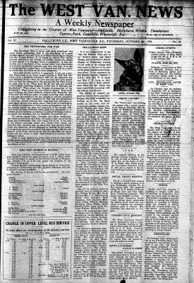 West Van. News (West Vancouver), 1 Oct 1936