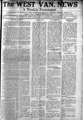 West Van. News (West Vancouver), 10 Sep 1936