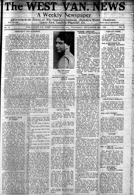 West Van. News (West Vancouver), 24 Sep 1936