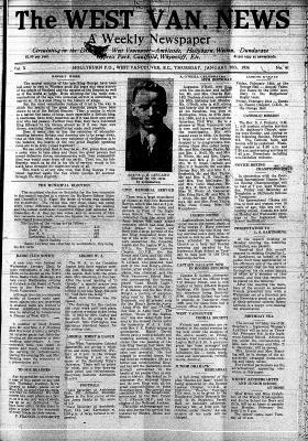 West Van. News (West Vancouver), 30 Jan 1936