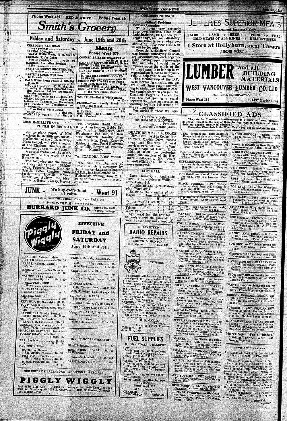 West Van. News (West Vancouver), 18 Jun 1936