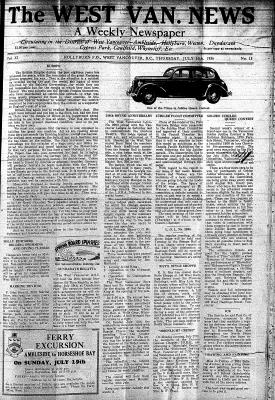 West Van. News (West Vancouver), 16 Jul 1936