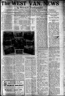 West Van. News (West Vancouver), 30 Jul 1936